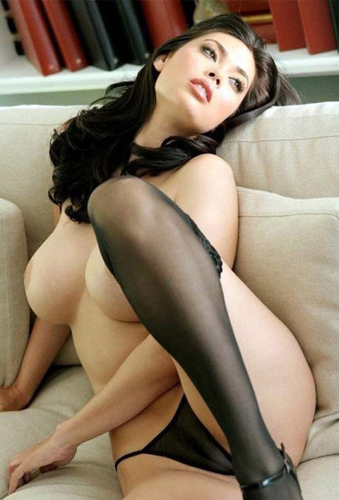 Tera Patrick en bas collants
