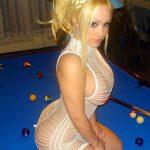 Poufiasse blonde ukrainienne à gros chassis