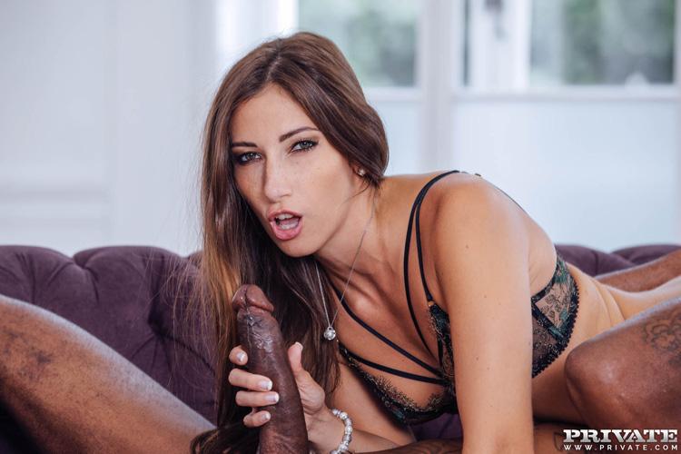 Clea Gaultier porn interracial Private 7