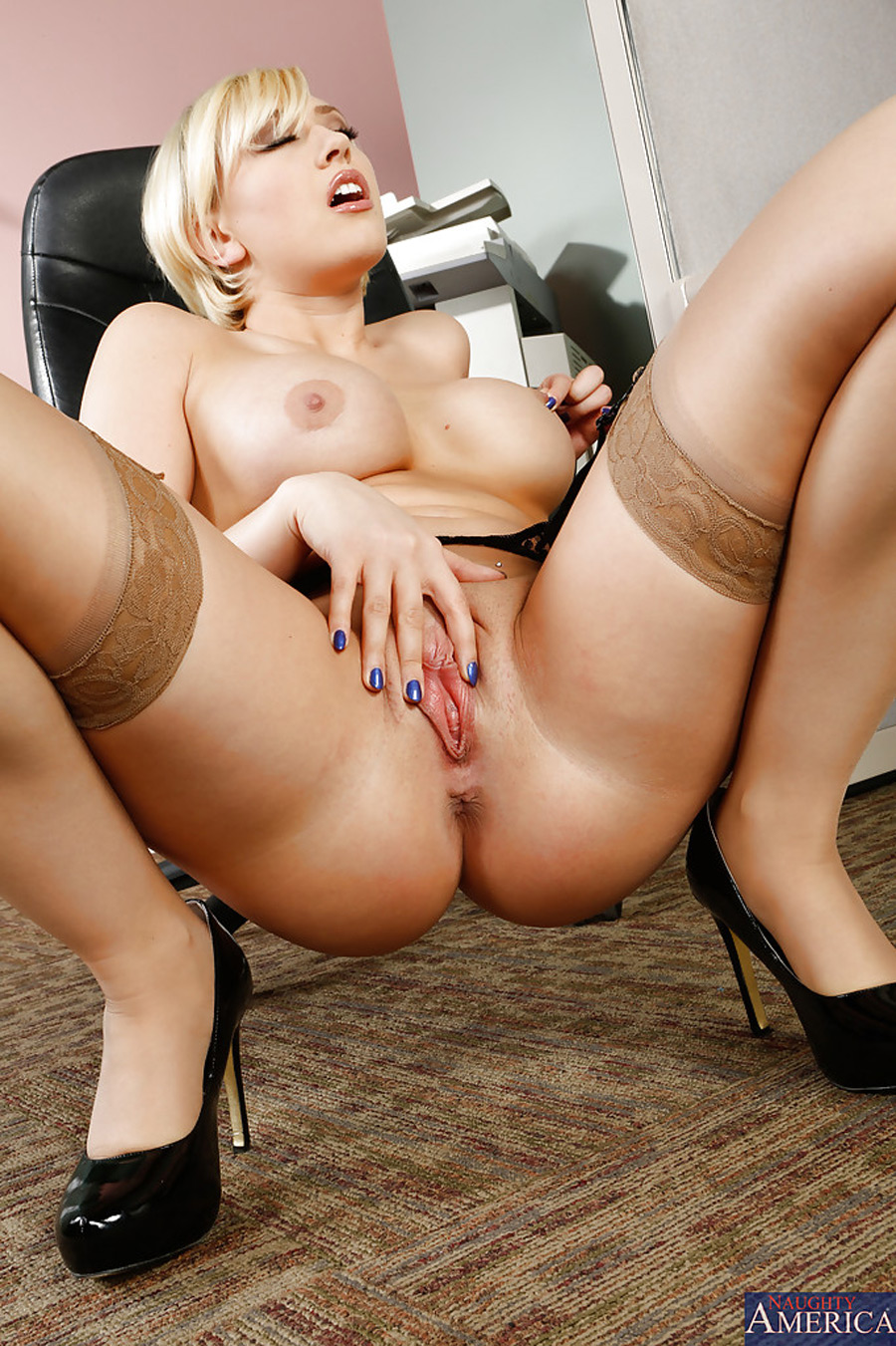 Kagney Linn Karter Naughty Office Photo 12