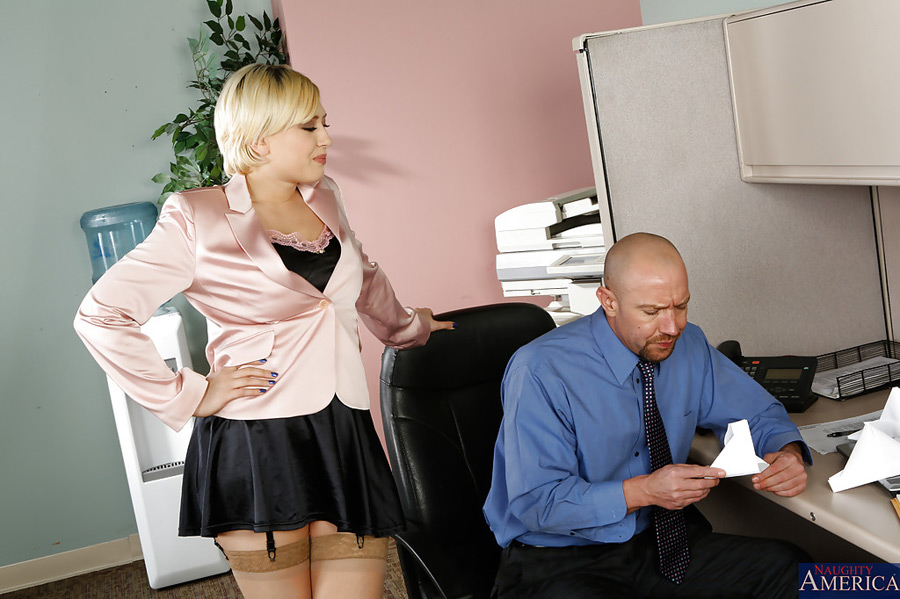 Kagney Linn Karter Naughty Office Photo 17