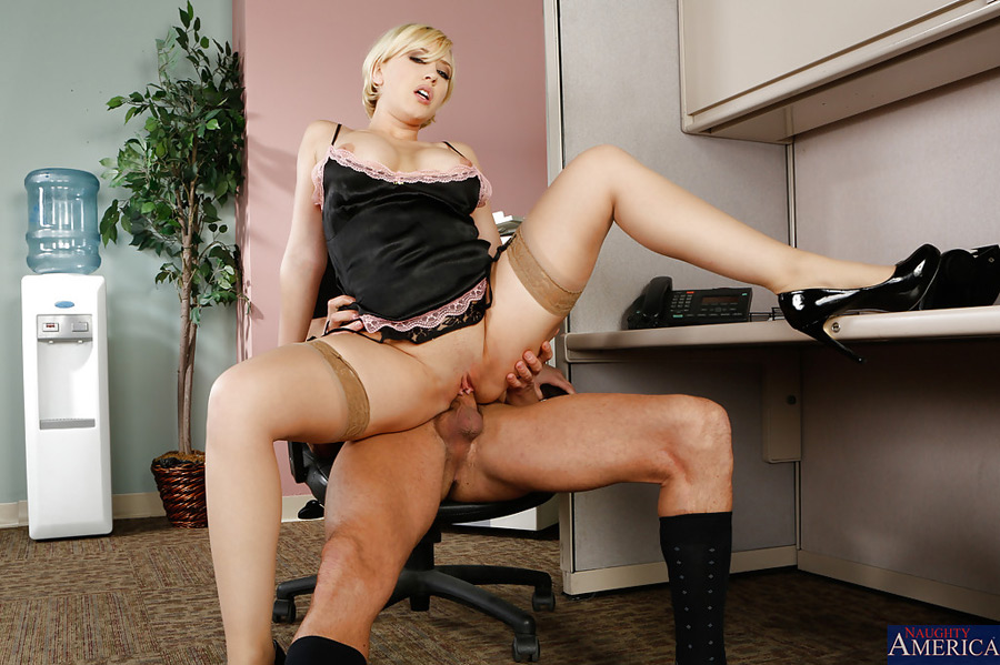 Kagney Linn Karter Naughty Office Photo 27
