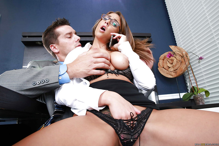 Layla London Big tits at Work 19
