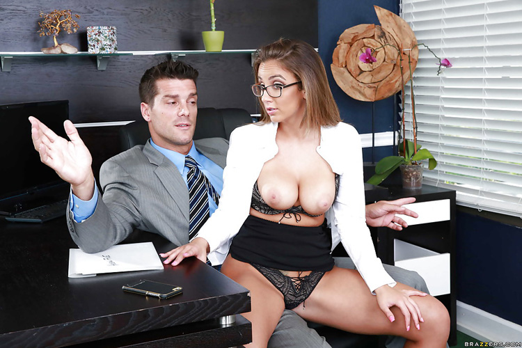 Layla London Big tits at Work 20