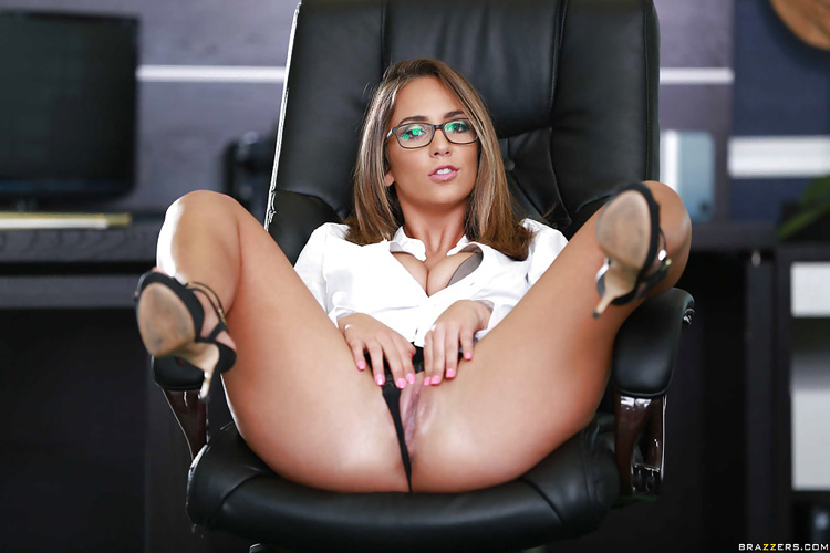 Layla London Big tits at Work 35