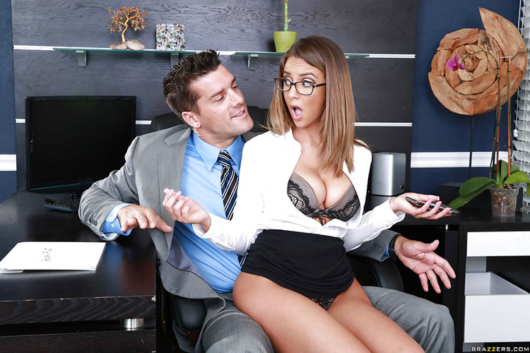 Layla London Big tits at Work 52