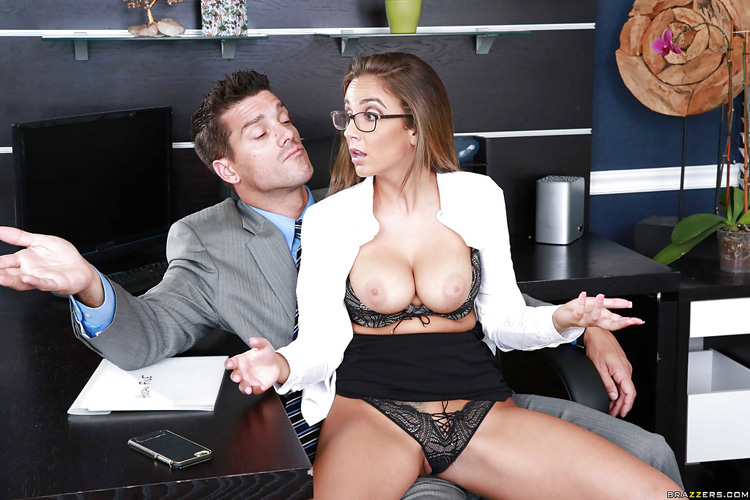 Layla London Big tits at Work 55